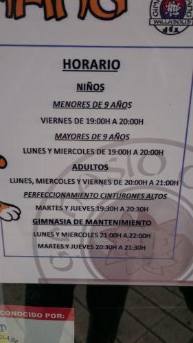 Gimnasio Chang  Valladolid