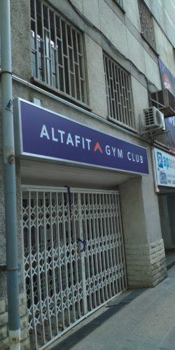 Gimnasio AltaFit Barcelona El Paralelo