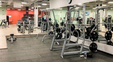 maquinas musculación gimnasio altafit odeón
