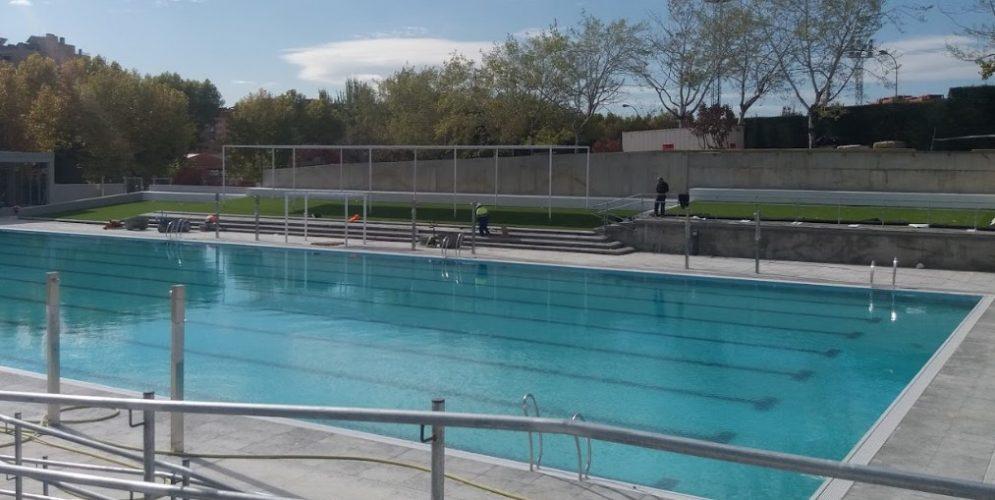 piscina verano polideportivo palomeras