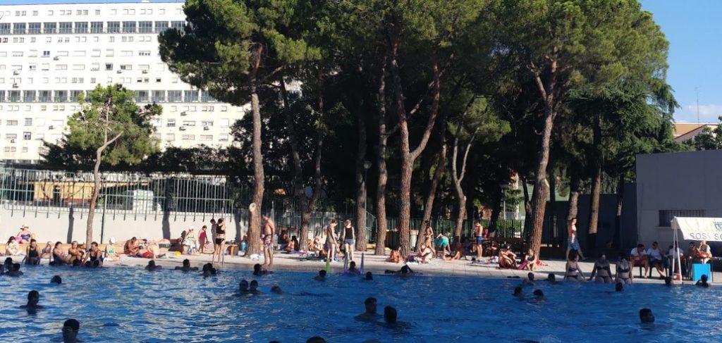 piscina verrano polideportivo la concepción