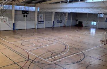 pista indoor polideportivo manteo